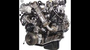 2009 ford 6.4 power stroke diesel with trans