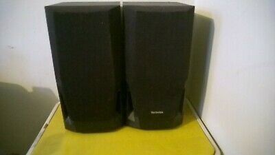 Pair of Technics SB-Ch530a hi fi Speakers. retro Vintage Stack System Stereo