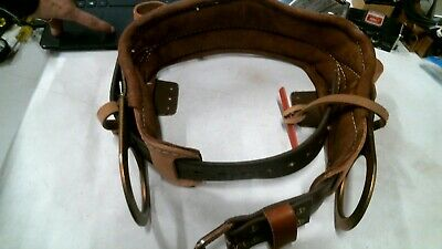 22 Klein Tools 5266n-22d Semi Floating Climbing Belt -free Shipping