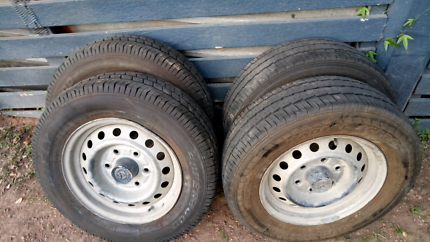 Hiace Rims and tyres 195/70/15C