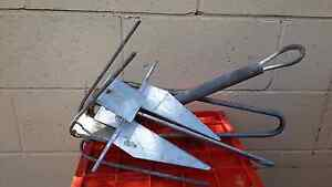 3 x boat anchors and marine cb radio gme gx300 Shailer Park Logan Area Preview