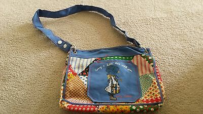 "Knickerbocker Holly Hobbie Child Toy Tote Bag Purse 10 1/2"" x 8 1/4"""