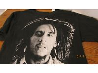 Bob Marley Damen T-Shirt Reggae Jamaika Wailers Jamaikanisch Flag Damen