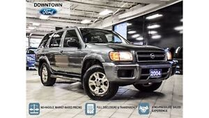 2004 Nissan Pathfinder Chinook Edition, Low KM, Trade-in, Non Sm