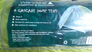 4 person tent never used Yarwun Gladstone Surrounds Preview