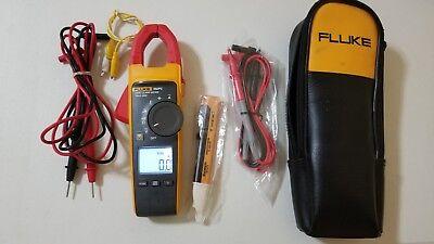 Used Fluke 902 Fc Hvac Clamp Meter Digital Multimeter Case Leads Tp 239346