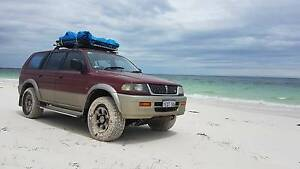 1999 Mitsubishi Challenger 4x4 with camping gear Perth Perth City Area Preview