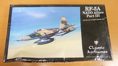 1/48 Classic Airframes RF-5A Nato Allies  New - Box Slightly Damaged for sale  La Palma