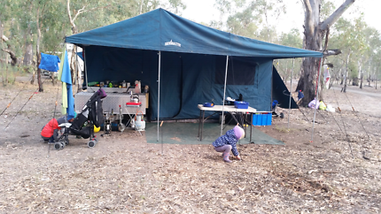 Trekmaster 5x2 camper trailer
