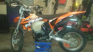 2012 KTM 200 XCW