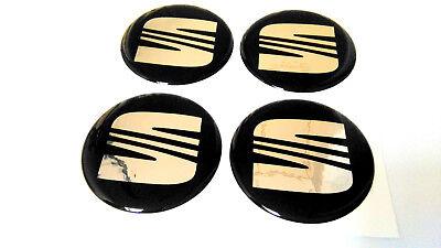 seat Aufkleber Raddeckel Nabendeckel Radkappen 4x55mm emblem  gebraucht kaufen  Gummersbach