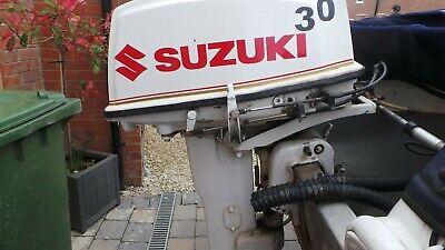 suzuki  30HP OUTBOARD BOAT MOTOR ENGINE 2 STROKE