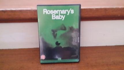 Rosemarys Baby region 2 dvd