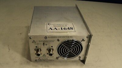 Glassman High Voltage Psex010p02.5 Power Supply Used Working