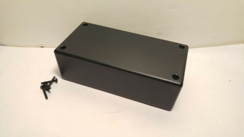 USA made Black Plastic Electronic Project Box Enclosure case 5 x 2.5 x 1.6 inch