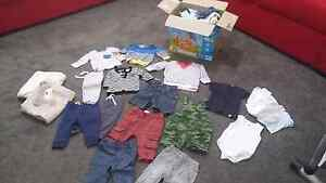Bulk sz 000 / 00 baby boy clothes Southern River Gosnells Area Preview