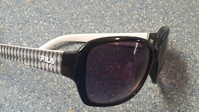 Fila Black Gray Pattern Shield Wrap Sport Sunglasses Quality Tennis (Fila Sport Sunglasses)