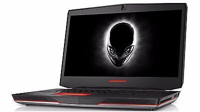 "Alienware 15 Gaming Laptop Touch-Screen 15.6"" 4K UHD i7 Quad 16GB 256GB SSD 1TB"