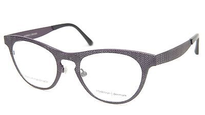 NEW PRODESIGN DENMARK 4383 c.3721 BLUISH PURPLE EYEGLASSES 51-21-140 B40mm Japan
