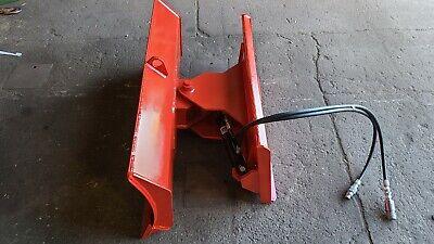 New 48 4 Way Dozer Blade Plow For Mini Skidsteer Fits Mt Bobcat Mount Redesign
