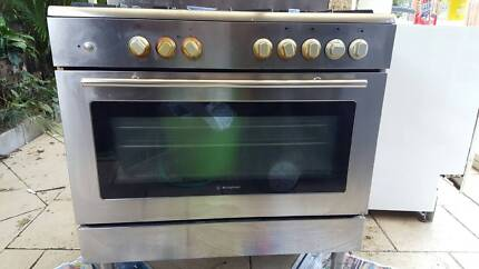 Westinghouse 90cm freestanding stainless steel 5-burner cooker wi Winston Hills Parramatta Area Preview