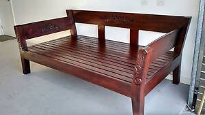 Balinese Style Timber Daybed Klemzig Port Adelaide Area Preview