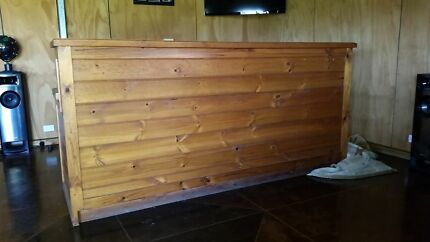 Solid Pine bar (mancave material)  Grasmere Camden Area Preview
