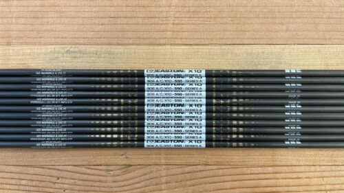 11 Easton X10 Arrow shafts 550 spine