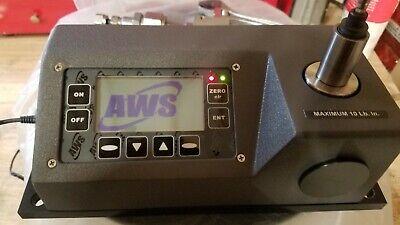 Aws-3011 Torque Tester Aws Display 3000 Advanced Witness Series Free Shipping