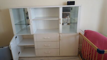 Display cabinet with storage Yowie Bay Sutherland Area Preview
