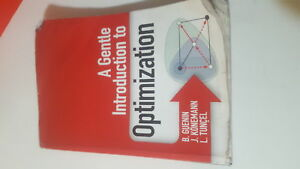 A Gentle Introduction to Optimization Textbook