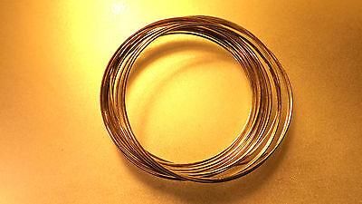 Silberdraht echt 925er Silber 0,50mm