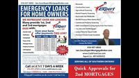 EQUITY LENDING! Quick 1st/2nd Mortgages and Construction Loans!