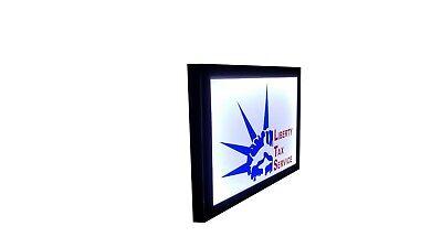 Liberty Tax Service Light Box Signtax Signs 16x24x2