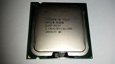 Usado, Intel Xeon X3220 2,4 GHz Quad-Core Prozessor + Wärmeleitpaste segunda mano  Embacar hacia Spain