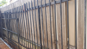 Steel bar custom made gates and fencing Queanbeyan Queanbeyan Area Preview