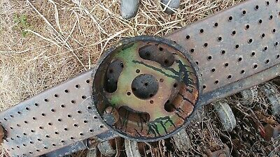 Vintage Antique John Deere Flat Belt Pulley C383e Implement Hit Miss