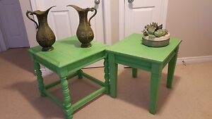 Cottage look side tables