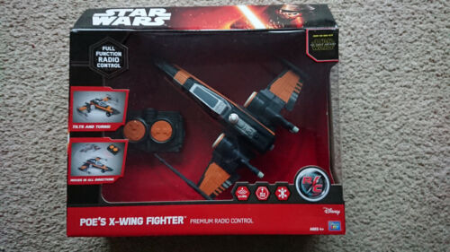 Star+Wars+Poe%27s+X-Wing+Fighter+Premium+RC+Radio+Remote+Control+Toy+Gift+30m+Rang