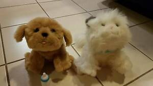 Cuddles the Cat and Snuggles the Dog TOYS