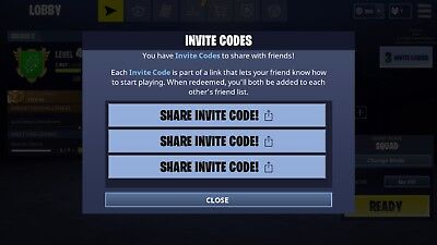 Fortnite Battle Royale Ios Mobile Download Invite Code Instant Delivery