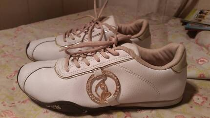 Size 6 - 6.5 White Leather, BABY PHAT casual shoes Kurrajong Hawkesbury Area Preview