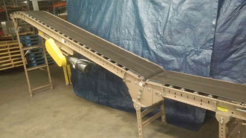 Conveyor Mathews B.O.R. 20 degree Incline Conveyor