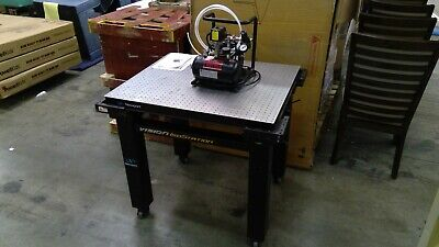 Brand New Vision Isostation By Newport With P15-tc Compressor. Lab Work Table