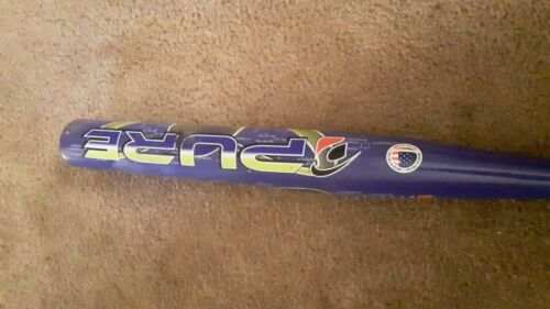softball bat pure fuzion 34in 27oz usssa FIB technology, nice lots of life left!