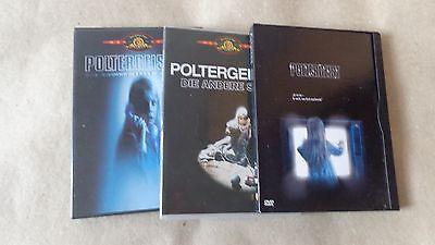 Poltergeist 1-3 dvd tobe hooper trillogie reihe aus sammlung kult rar oop