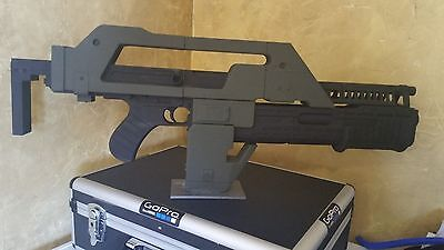 3d Printed Aliens M41A Pulse Rifle Assembled 3D Printed Gun  (Life Size)!