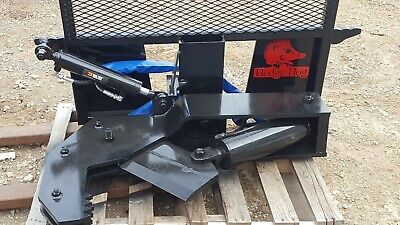 Skid Steer Tree Shear Hydraulic Rotation
