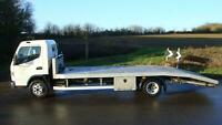 14 MITSUBISHI CANTER 20 FOOT FT ALLOY BEAVERTAIL RECOVERY TRUCK 4250 KG PAYLOAD