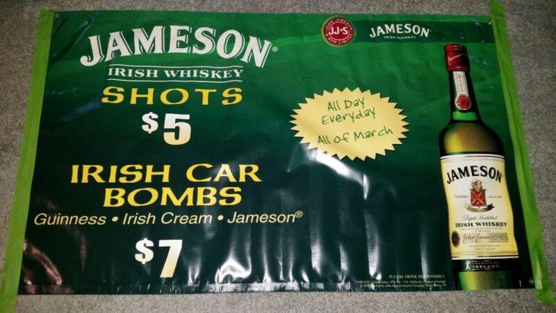 Jameson Whiskey Poster Banner ! 3